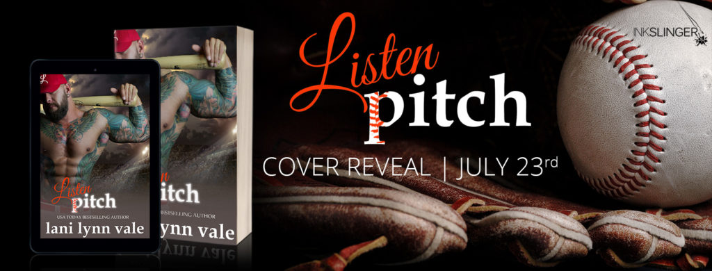COVER REVEAL ~ Listen, Pitch (There's No Crying in Baseball Book 3) by Lani Lynn Vale