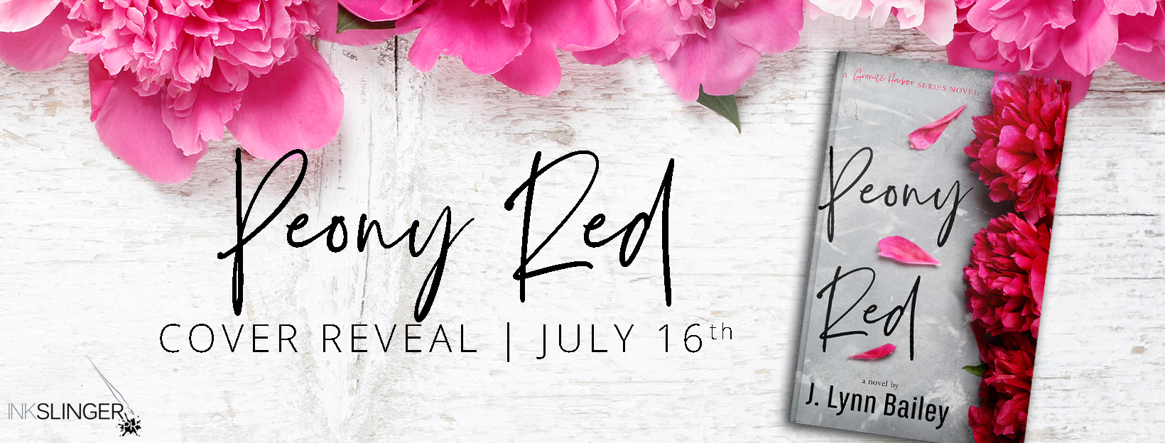 Cover Reveal: Peony Red by J. Lynn Bailey