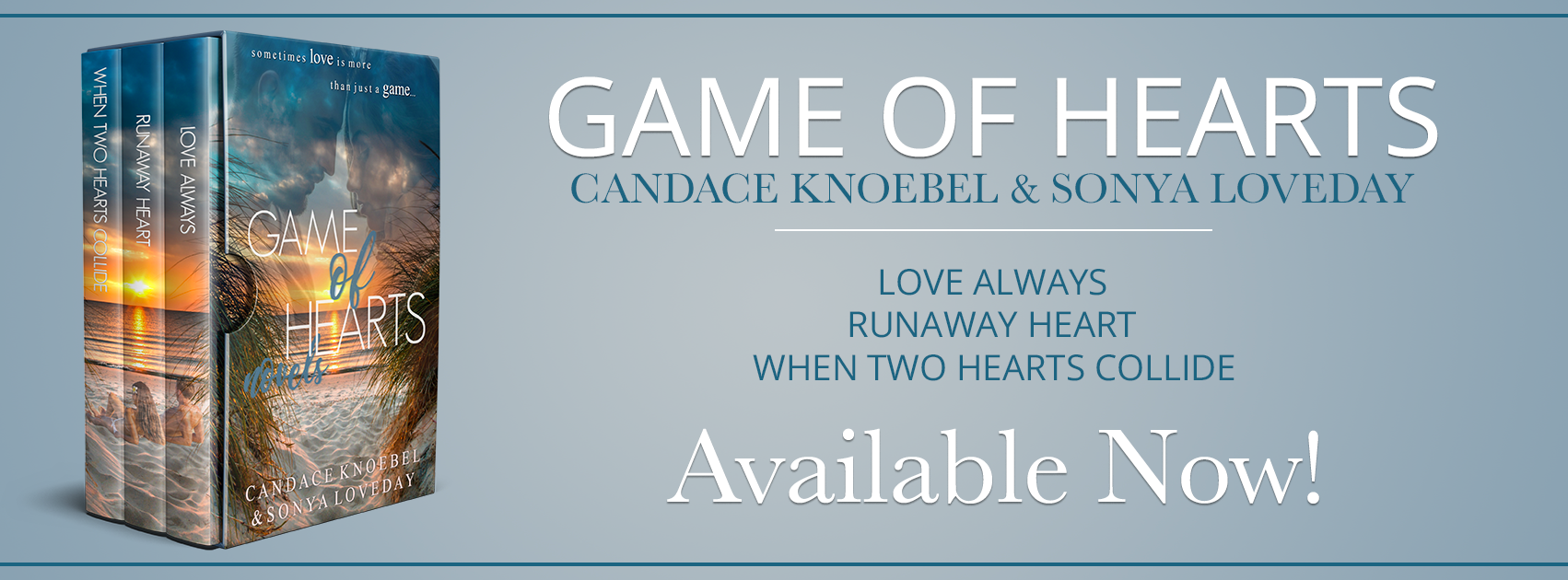 Book News: Game of Hearts Box Set Release Promo