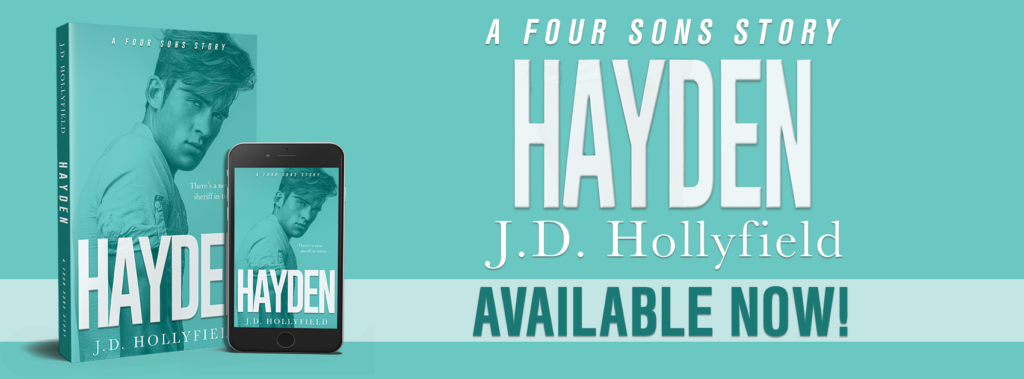 Sweet Red Reads Release Blitz Hayden A Four Sons Story By Jd