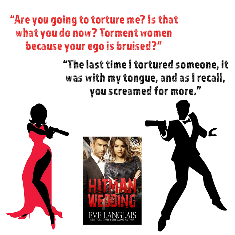 hitman 2 giveaway excerpt giveaway hitman wedding by eve langlais 2203