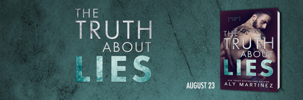 COVER REVEAL ~ THE TRUTH ABOUT LIES by Aly Martinez