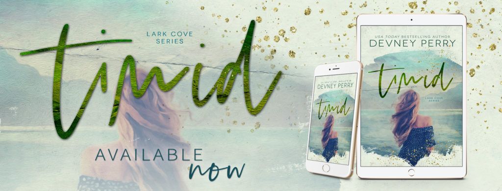 Release Blitz ~ Timid (Lark Cove Book 2) by Devney Perry