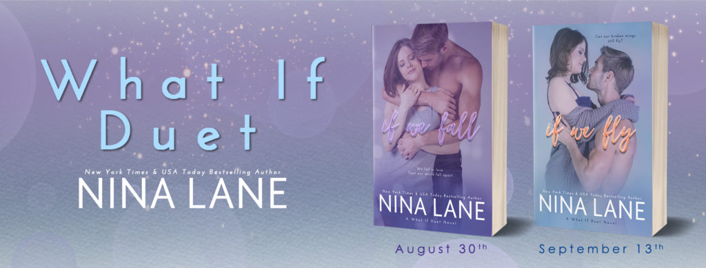 Cover Reveal: What If Duet by Nina Lane