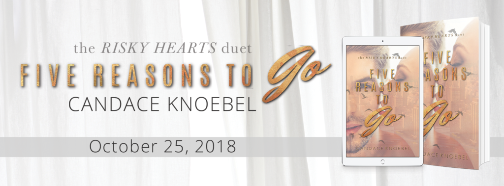 #Teaser ~ 5 Reasons To Go by Candace Knoebel ~ #ComingSoon @candaceknoebel @inkslingerpr