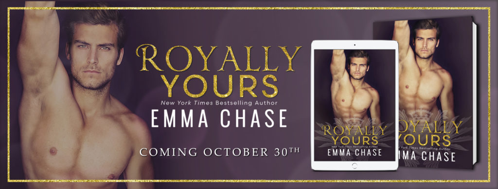 Cover Reveal –> Royally yours by Emma Chase
