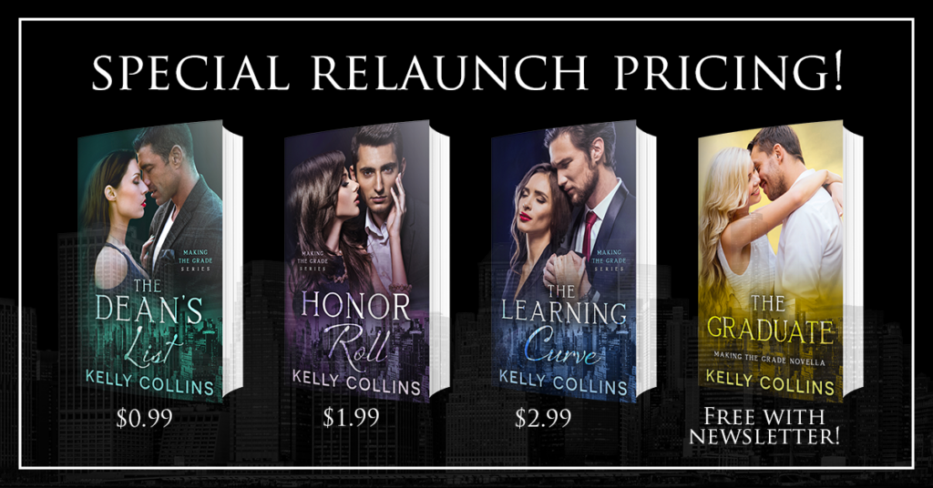 Sale Blast: Making the Grade Series by Kelly Collins