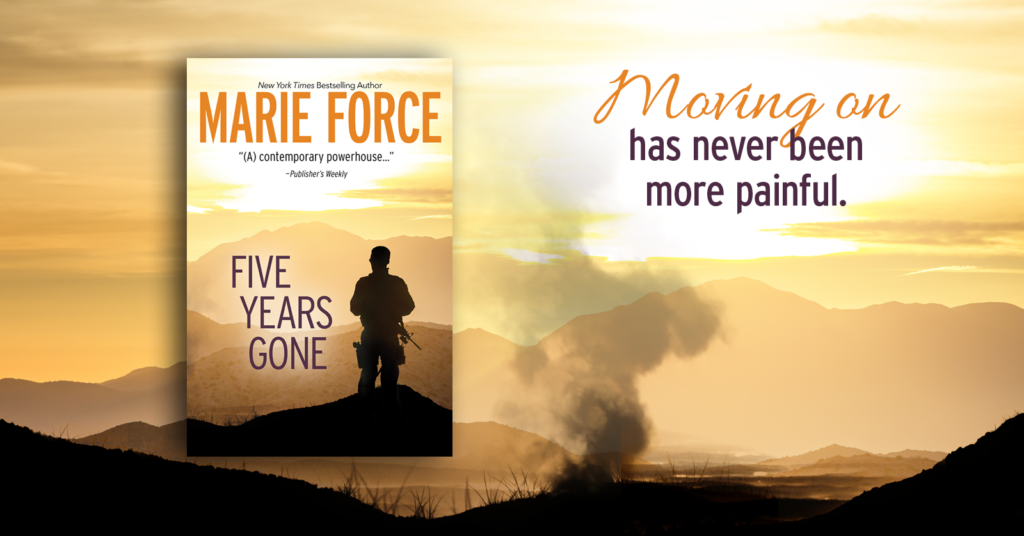 Five Years Gone Blog Tour – Excerpt