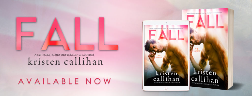 Blog Tour & Review: Fall by Kristen Callihan
