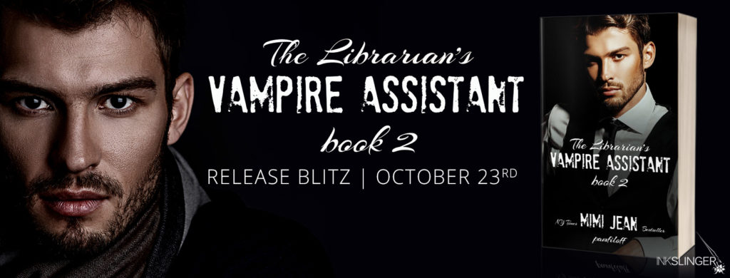 Release Blitz & Giveaway: The Librarian's Vampire Assistant Book 2 by Mimi Jean Pamfiloff