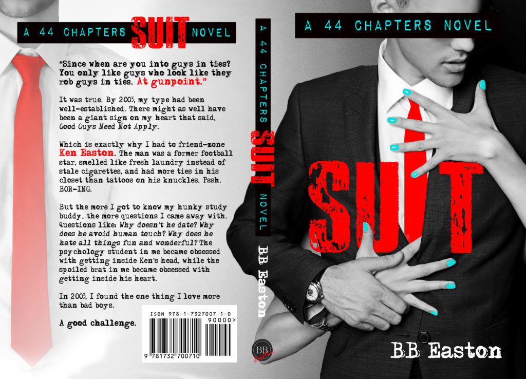 #CoverReveal ~ Suit (44 Chapters #4) by B.B. Easton ~ #PreOrder @bb_easton @inkslingerpr