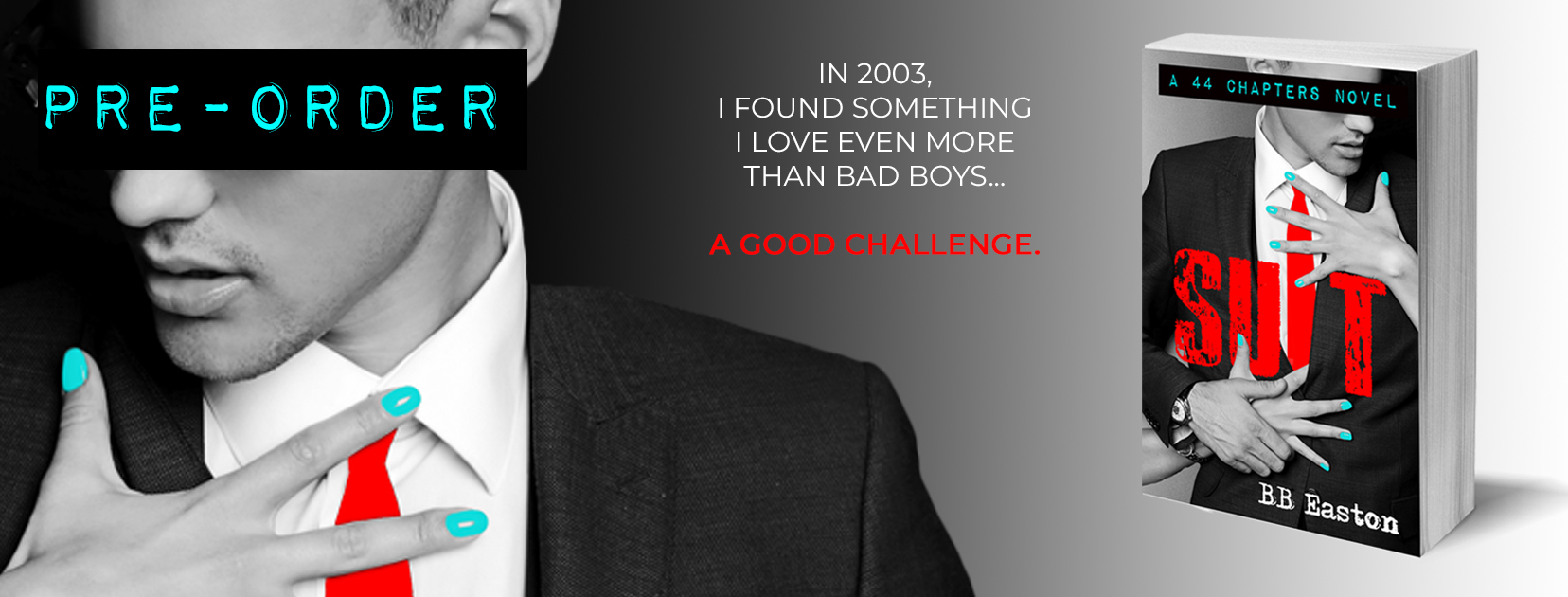 Cover Reveal: Suit by B. B. Easton