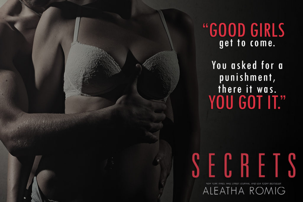 Secrets by Aleatha Romig -Blog Tour - Brittany's Book Blog