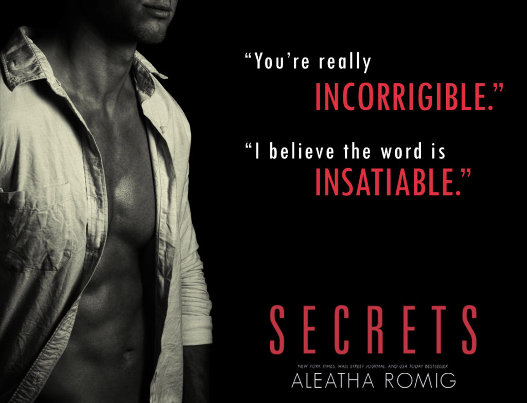 5 Star Review: Secrets (Web of Sin #1) by Aleatha Romig