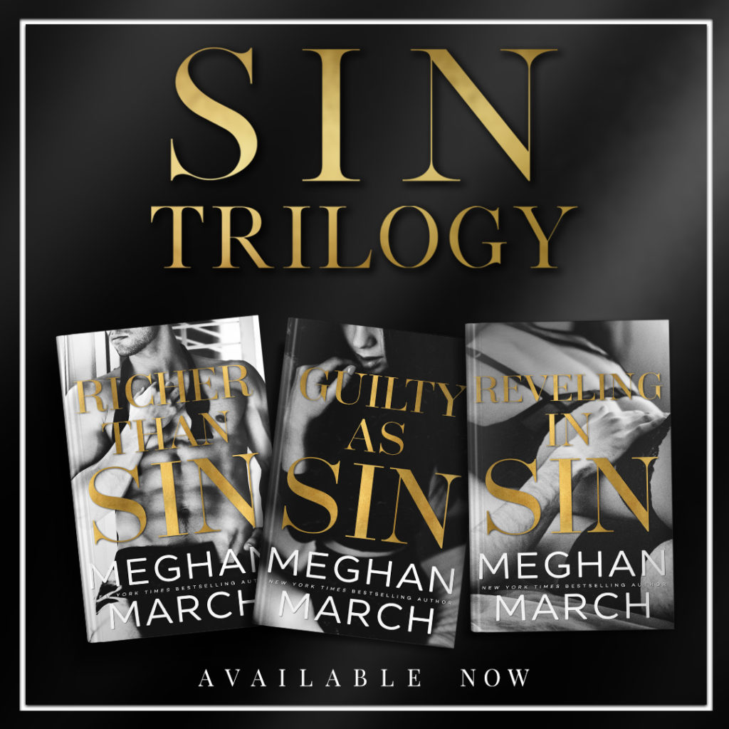 BOOK REVIEW TOUR: REVELING IN SIN by MEGHAN MARCH @Meghan_March