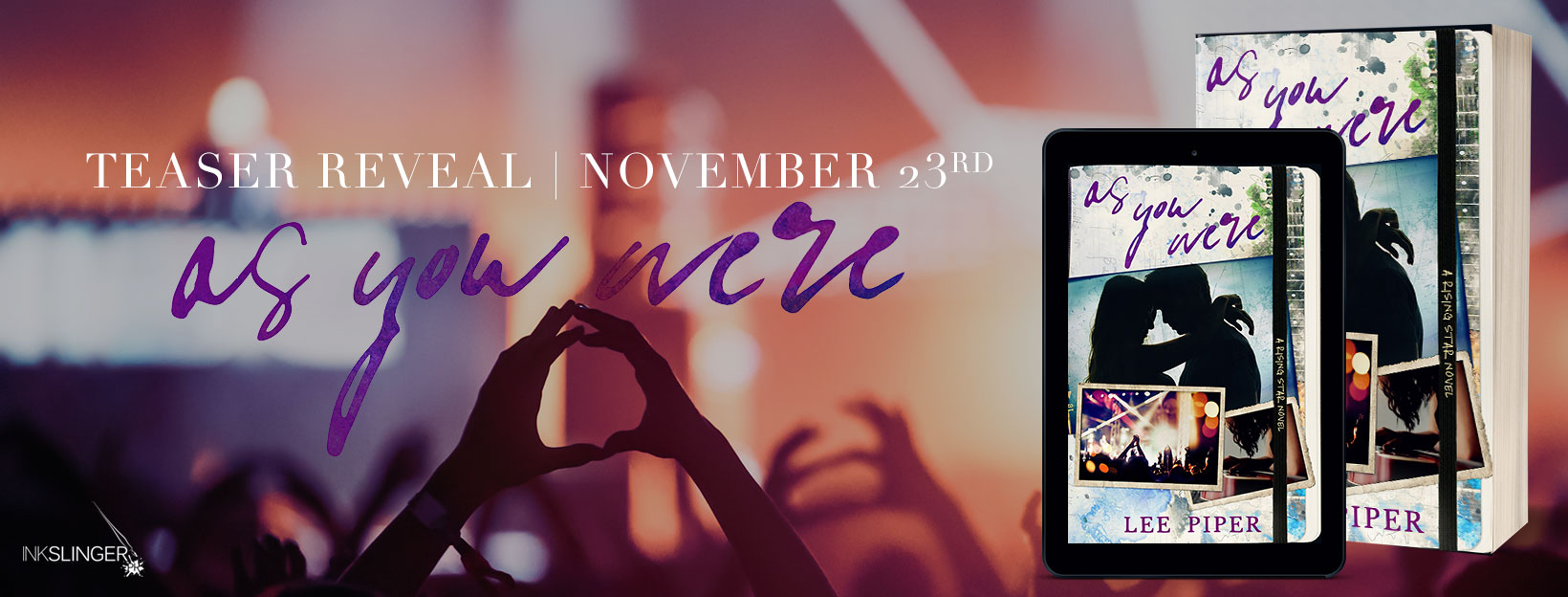 Trailer/Teaser Reveal ~ AS YOU WERE by Lee Piper