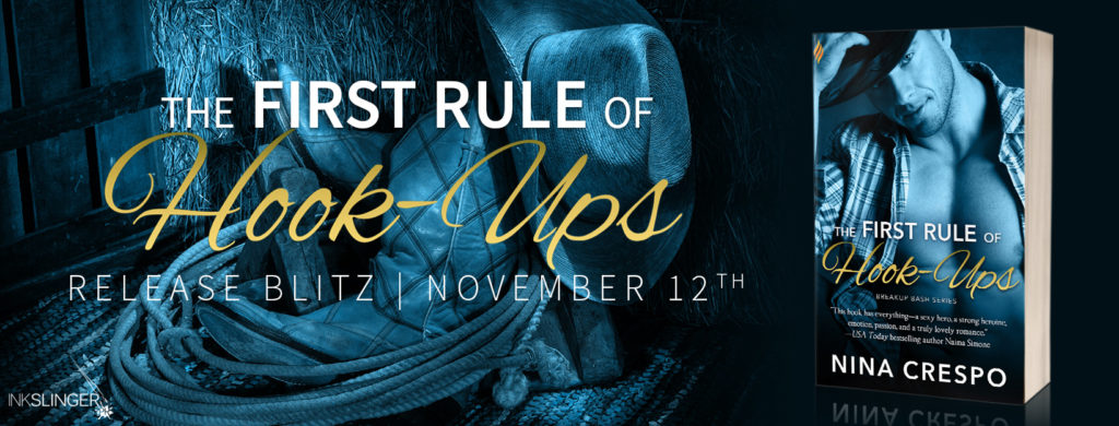 Release Blitz & Giveaway: The First Rule of Hook-ups by Nina Crespo