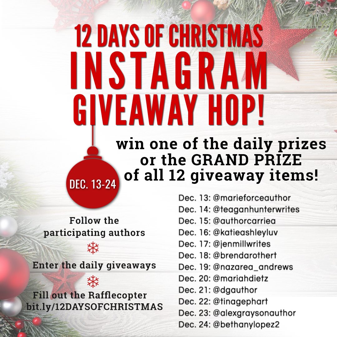 12 Days of Christmas Instagram Giveaway Event!