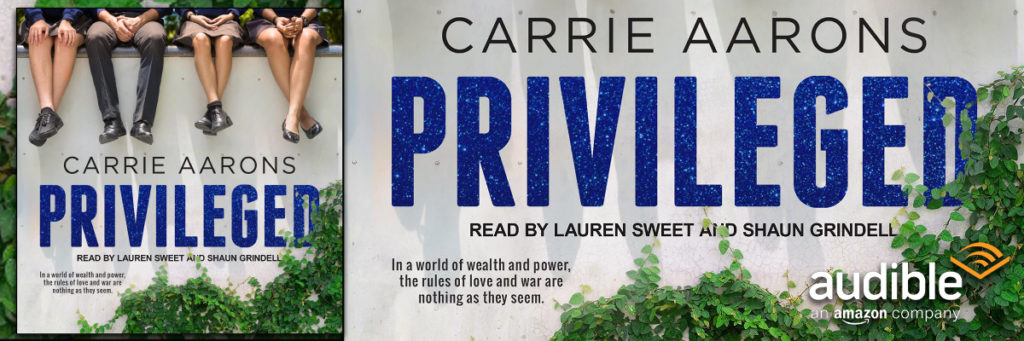 Audiobook Release: Privileged by Carrie Aarons