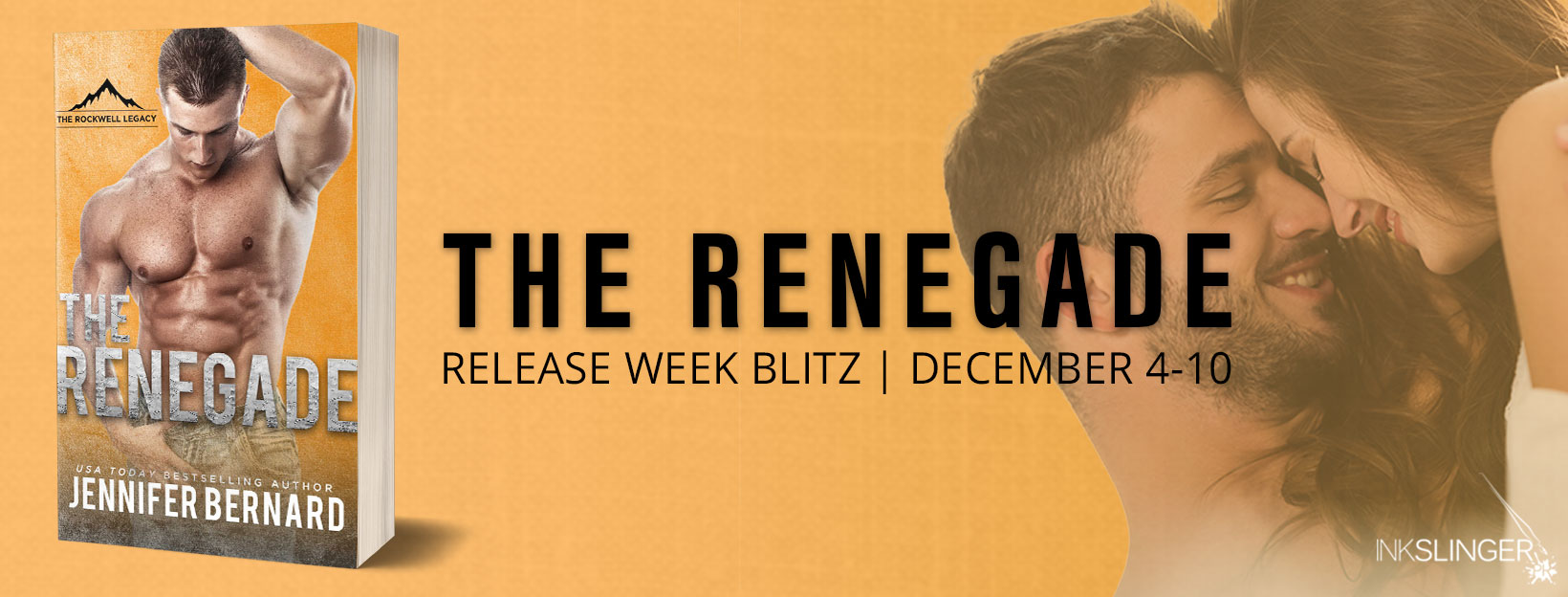 Blog Tour & Giveaway: The Renegade by Jennifer Bernard