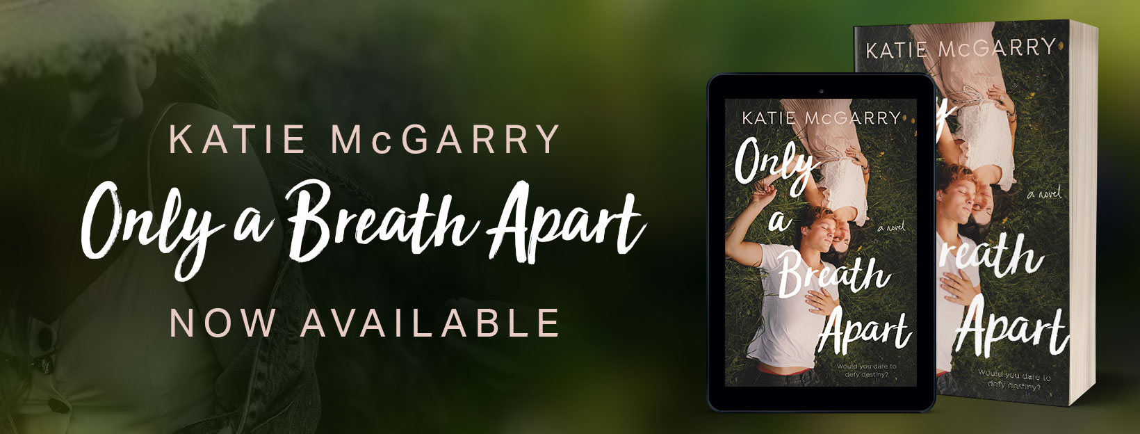 Katie McGarry's ONLY A BREATH APART – Release Day Launch