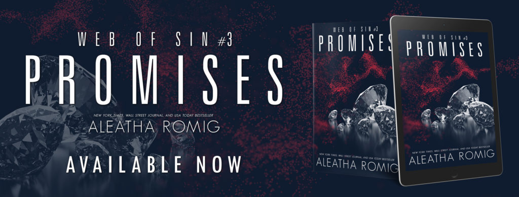 Read More Sleep Less Blog: Review Promises by Aleatha Romig