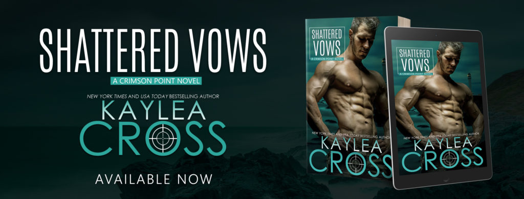 Release Blitz ~ Shattered Vows (Crimson Point Series Book 3) by Kaylea Cross