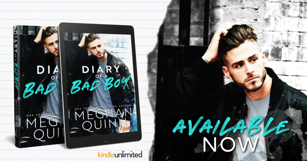 Release Blitz ~ Diary of a Bad Boy by Meghan Quinn