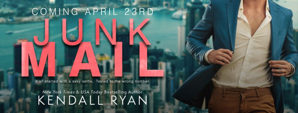 COVER REVEAL~  Junk Mail by Kendall Ryan