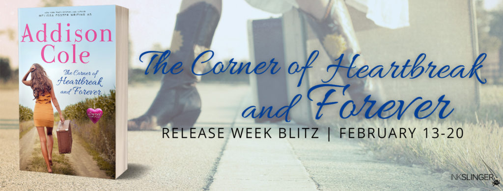 Blog Tour & Giveaway: The Corner of Heartbreak and Forever by Addison Cole