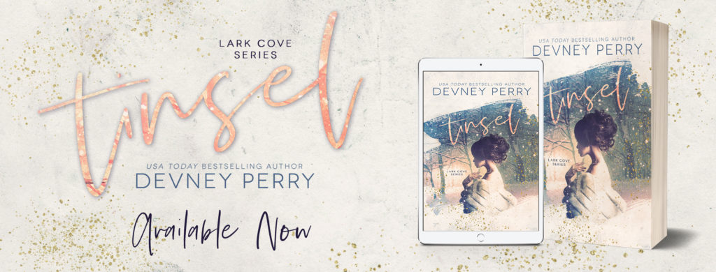 New Release ~ Tinsel (Lark Cove Book 4) by Devney Perry