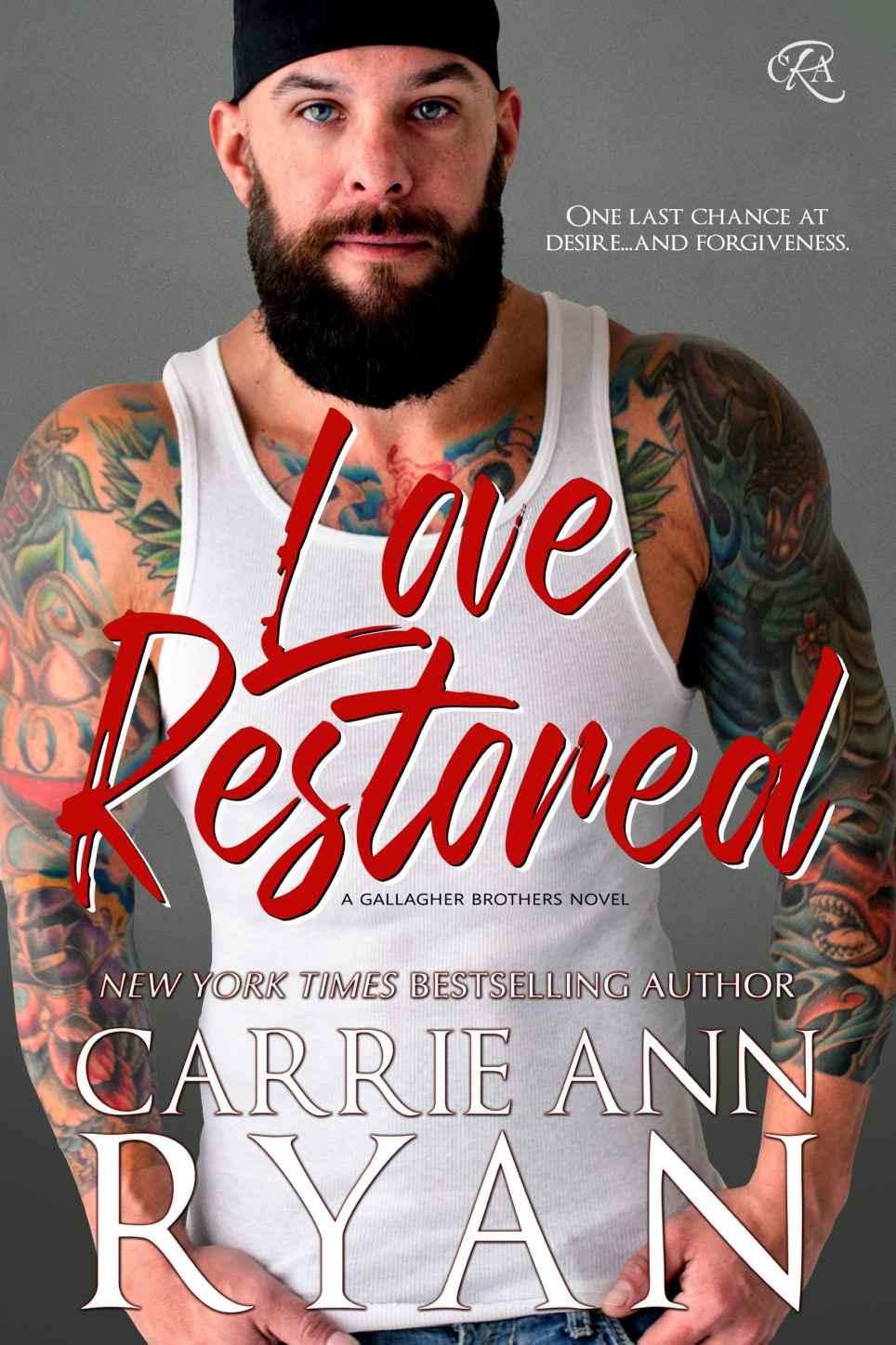 On Sale: LOVE RESTORED by Carrie Ann Ryan