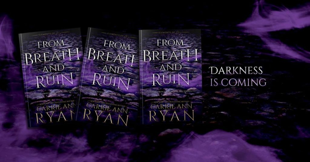 Release Blitz ~ FROM BREATH AND RUIN by Carrie Ann Ryan