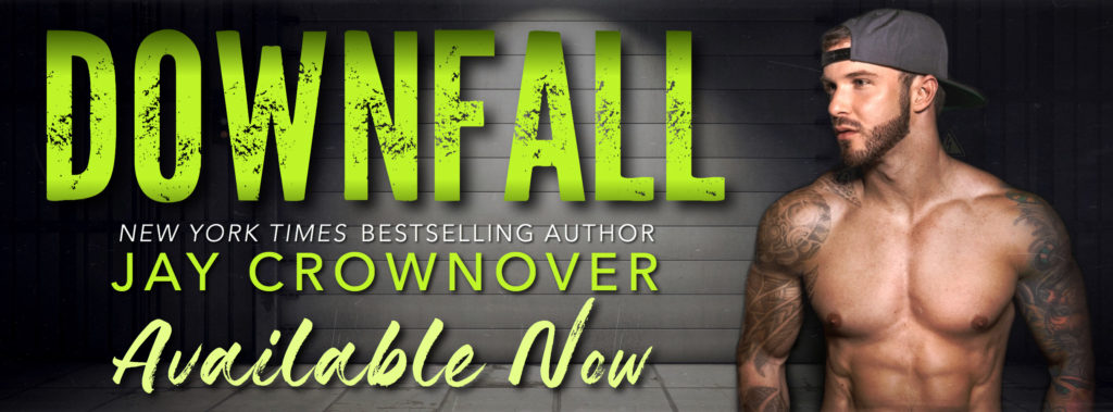 Release Blitz ~ DOWNFALL by Jay Crownover