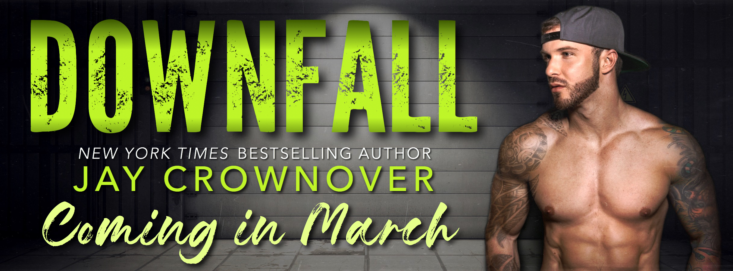 Jay Crownover's DOWNFALL – Cover Reveal