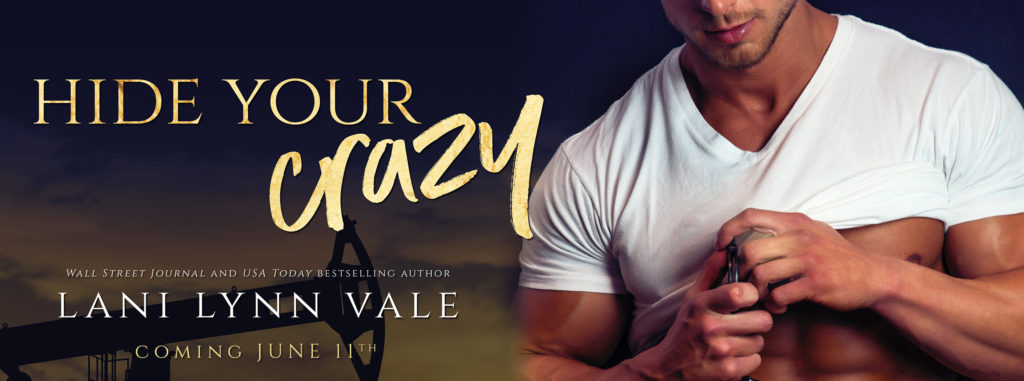 Cover Reveal ~ HIDE YOUR CRAZY by Lani Lynn Vale