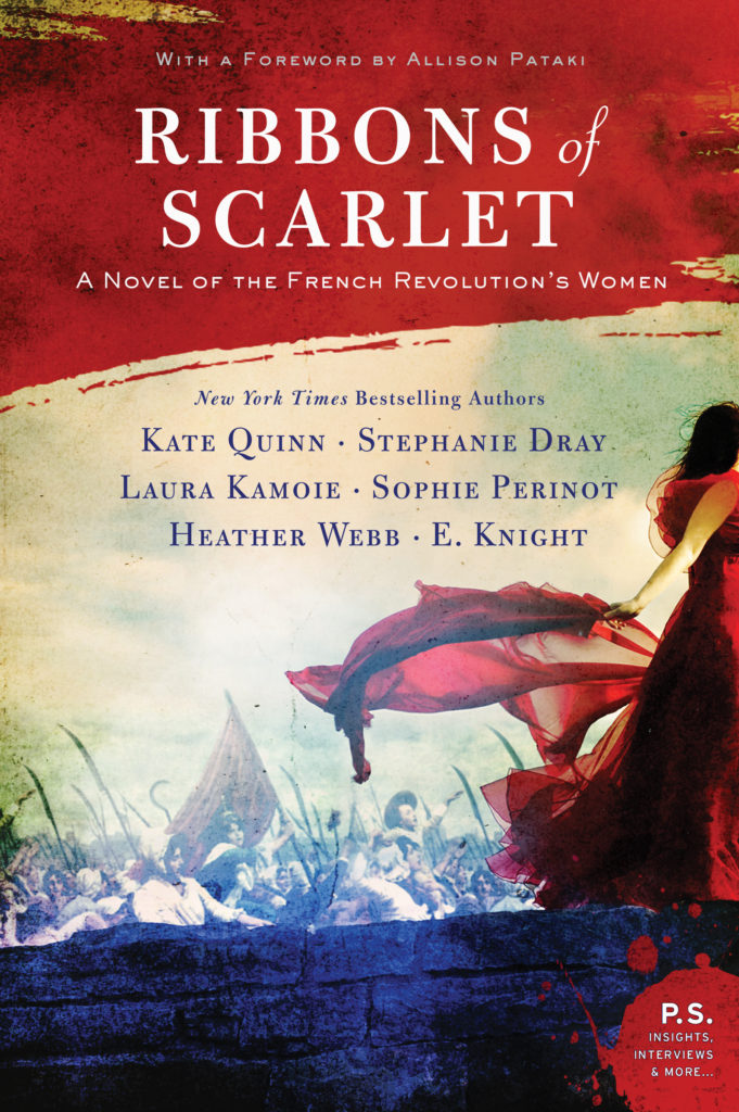 Cover Reveal: Ribbons of Scarlet: A Novel of the French Revolution