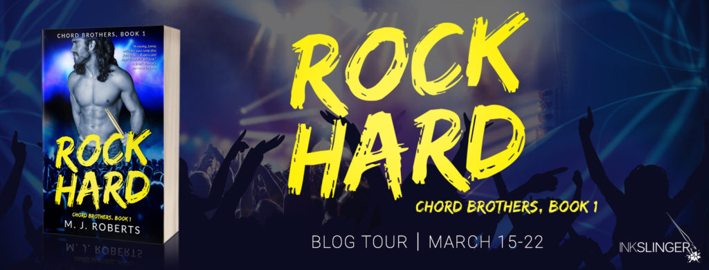 Blog Tour & Giveaway: Rock Hard by M.J. Roberts