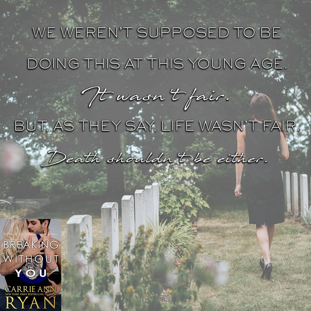 Available Now: BREAKING WITHOUT YOU by Carrie Ann Ryan