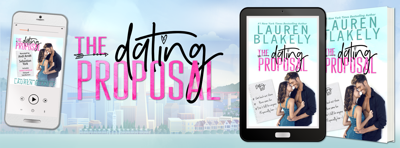 Lauren Blakely's THE DATING PROPOSAL – Cover Reveal