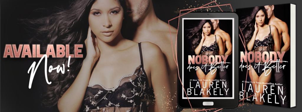 Release Day Blitz ~ Lauren Blakely's NOBODY DOES IT BETTER