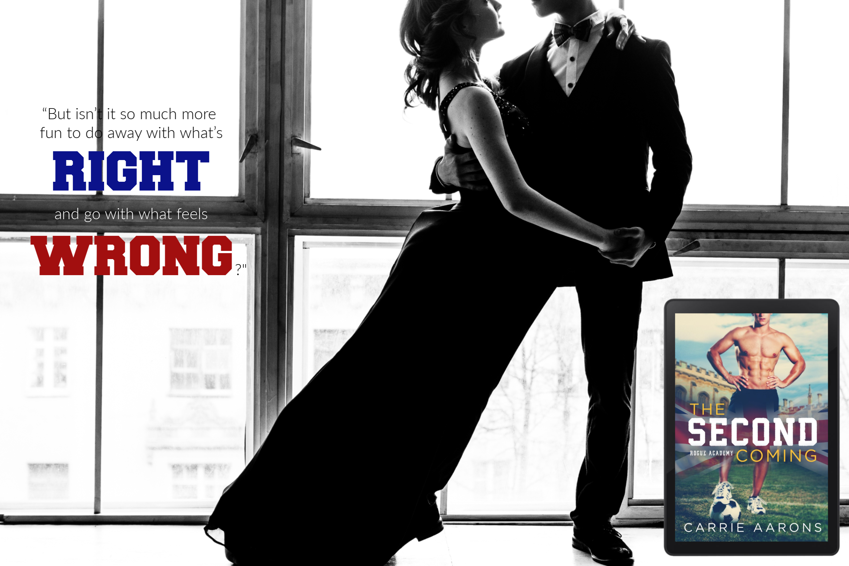 THE SECOND COMING by Carrie Aarons – Teaser Reveal