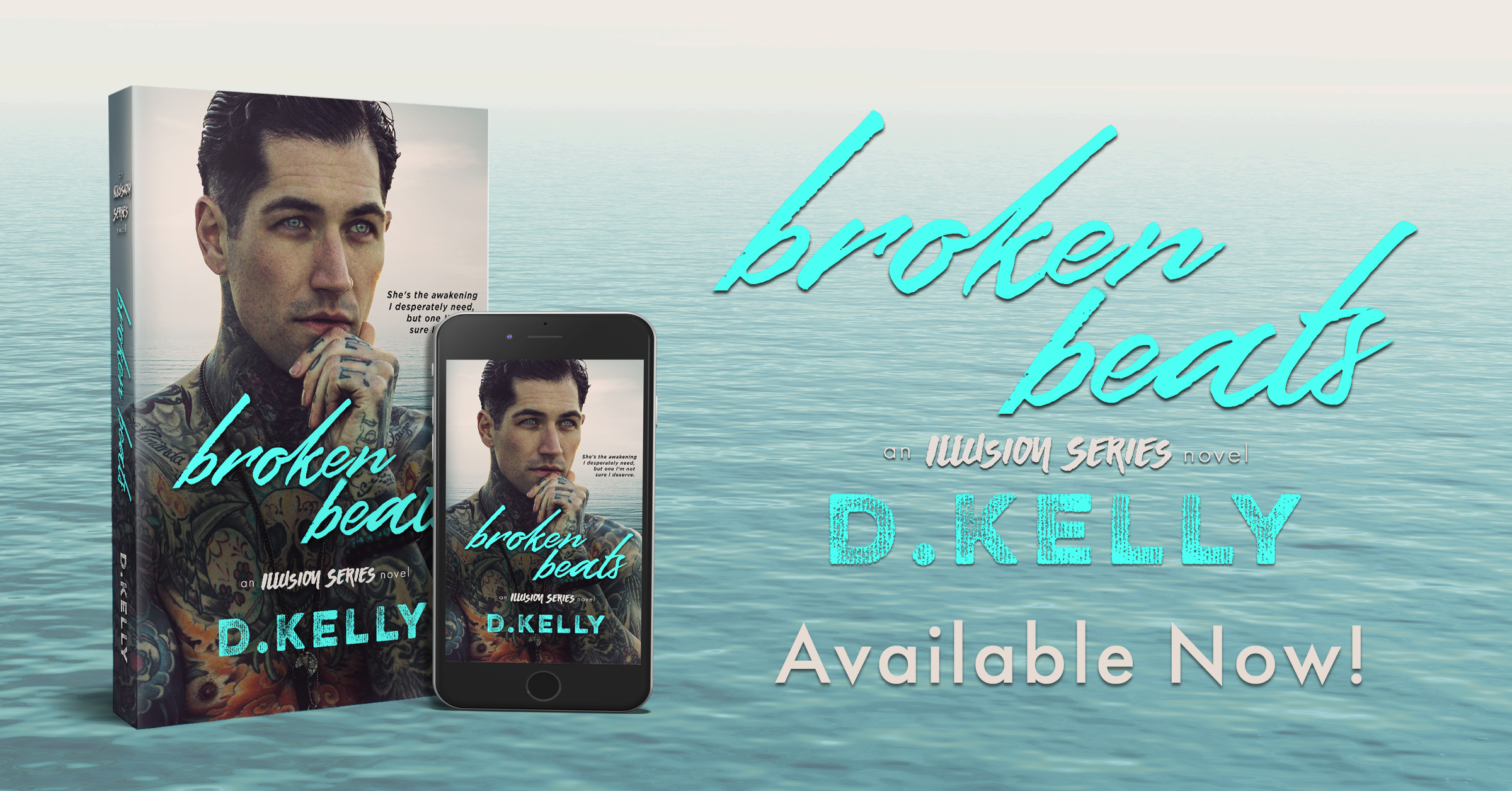 Available Now: BROKEN BEATS by D. Kelly