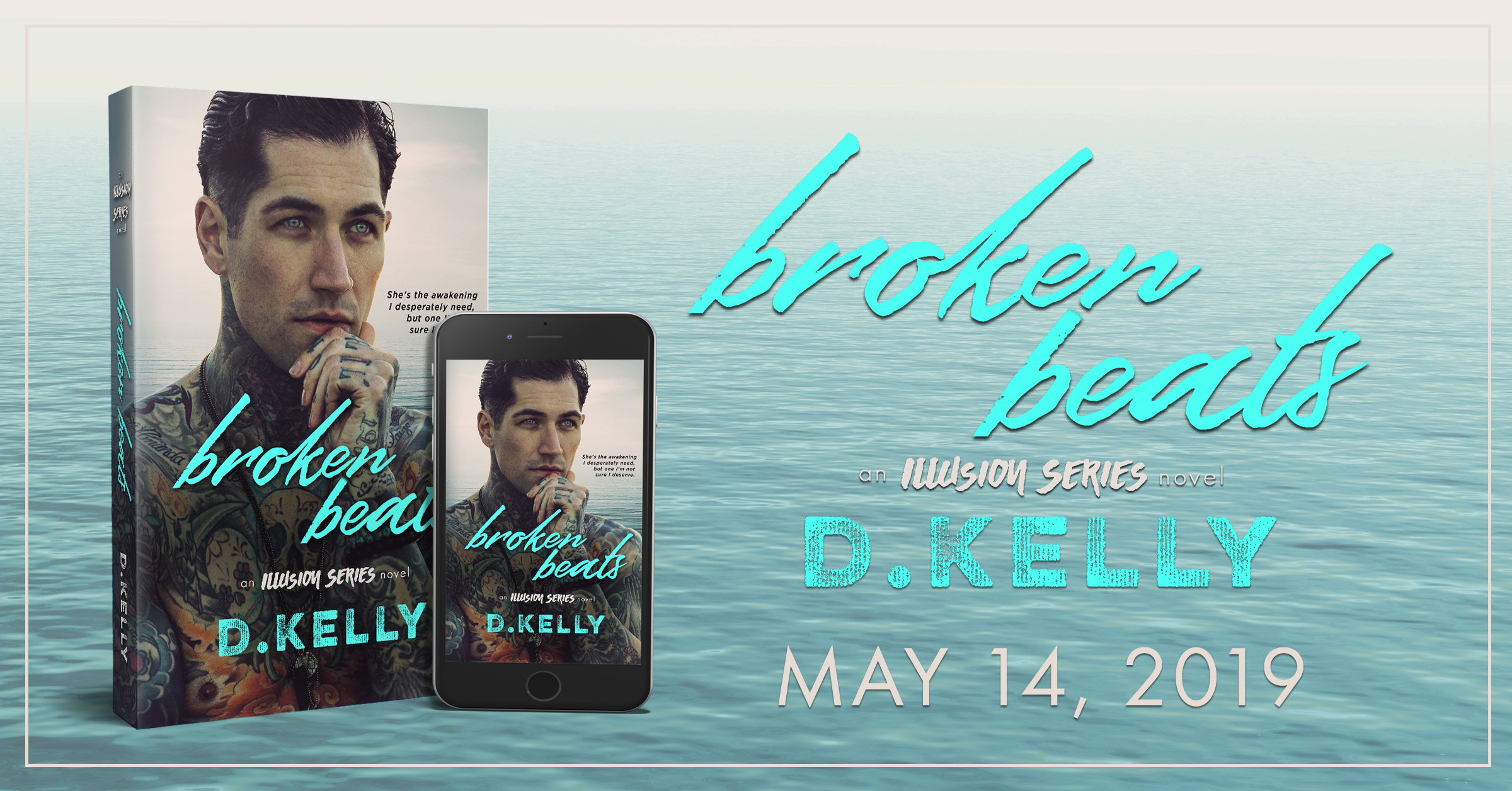 Excerpt Reveal: BROKEN BEATS by D. Kelly
