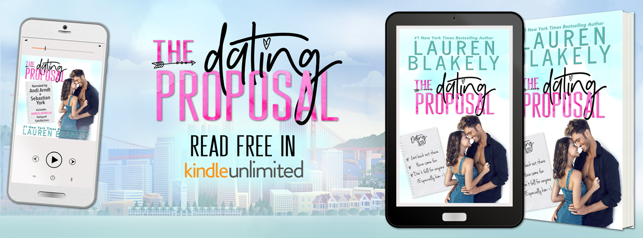 Lauren Blakely's THE DATING PROPOSAL – Release Day Launch