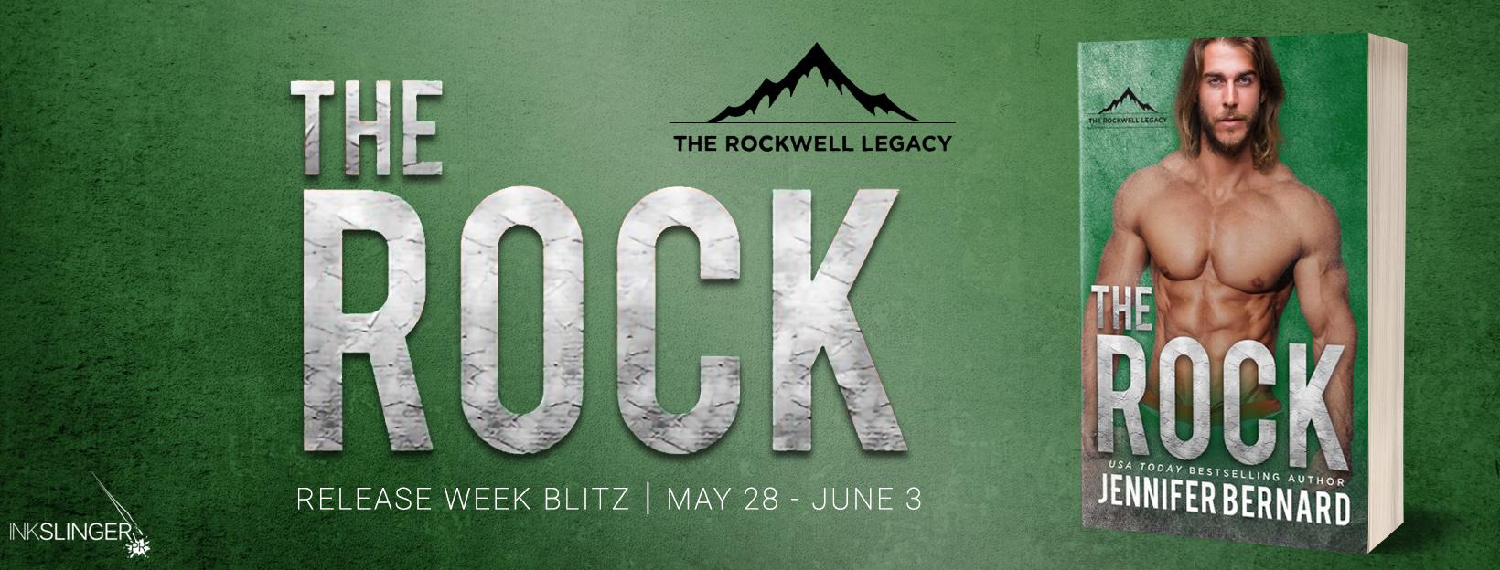 THE ROCK by Jennifer Bernard – Release Week Blitz