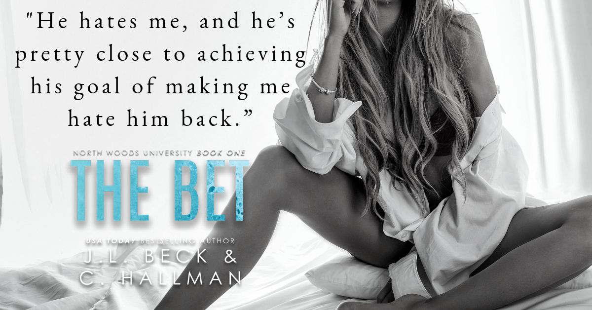 THE BET by J.L. Beck & C. Hallman – Release Day Blitz