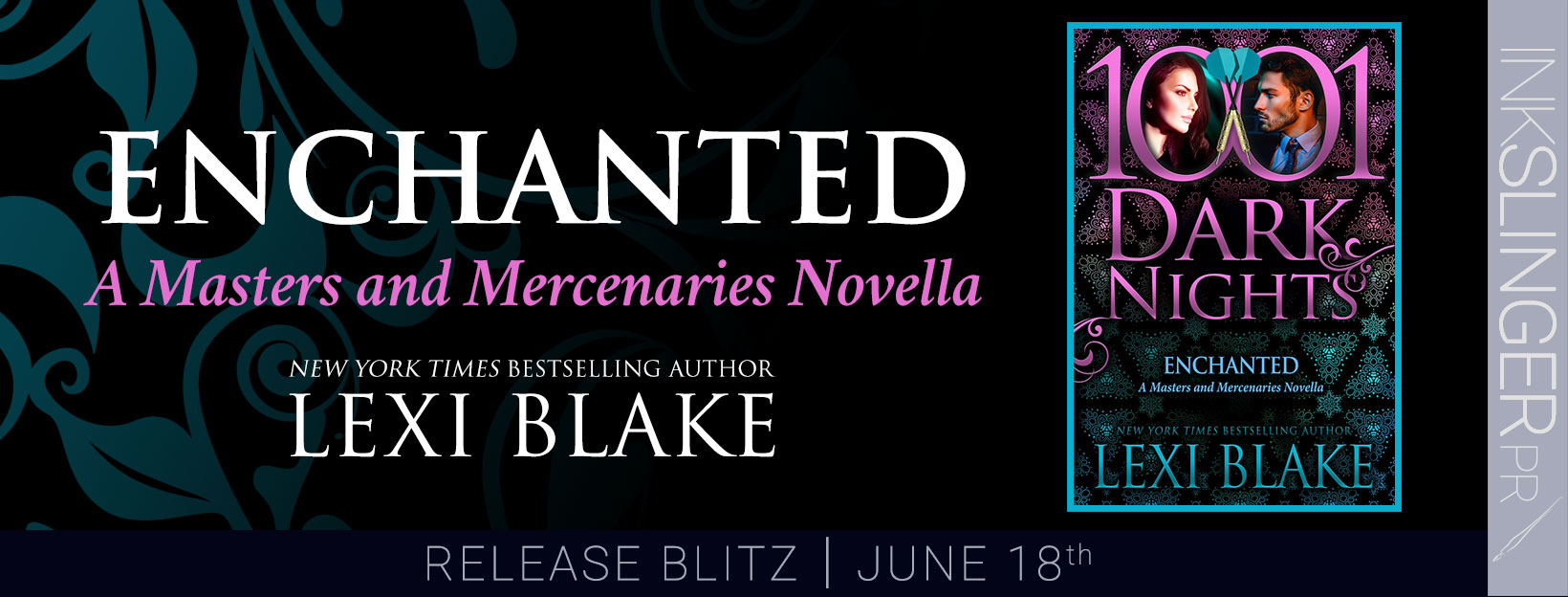 Release Day Blitz ~ ENCHANTED by Lexi Blake