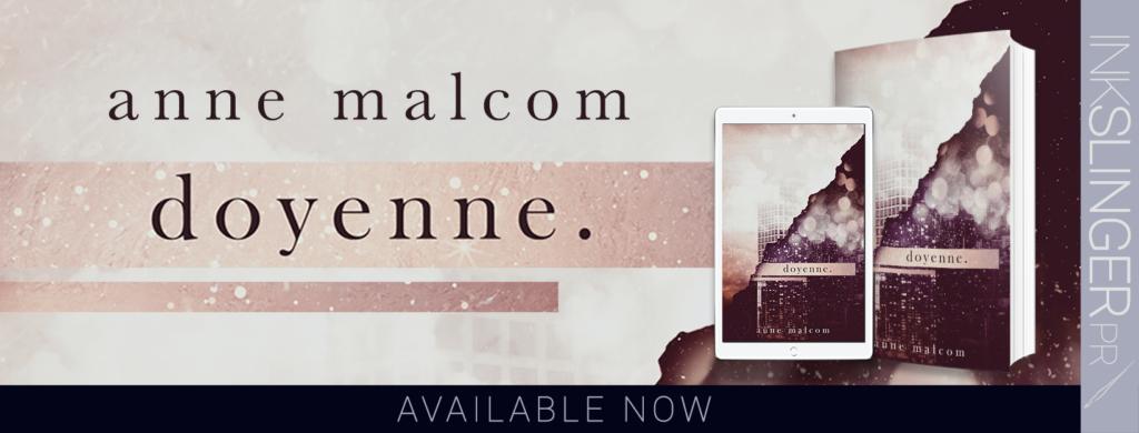 Release Blitz ~ DOYENNE by Anne Malcom