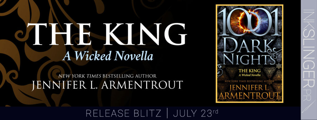 Release Day Blitz ~ THE KING by Jennifer L. Armentrout